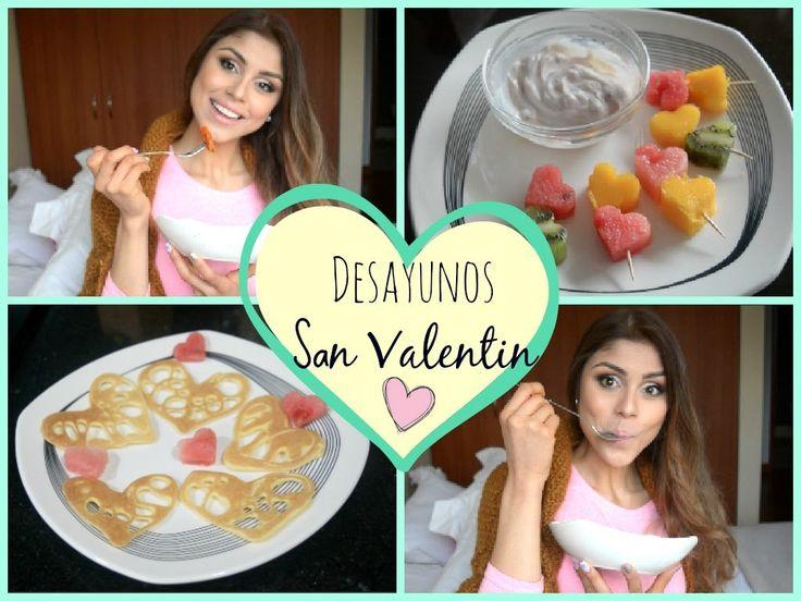 Haz DESAYUNOS bonitos para San Valentin! ♡ ♡ ♡ - YouTube
