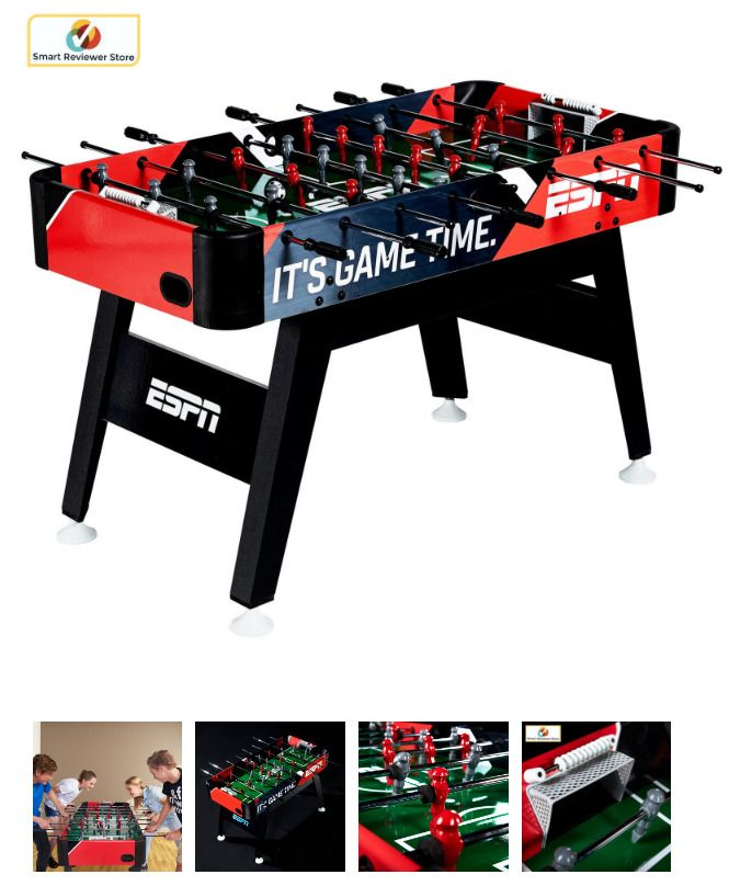 54 Espn Foosball Soccer Table Arcade Game Room Sport Play Fun