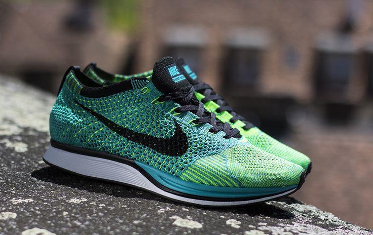 Nike Flyknit Racer (Sport Turquoise  Lucid Green).