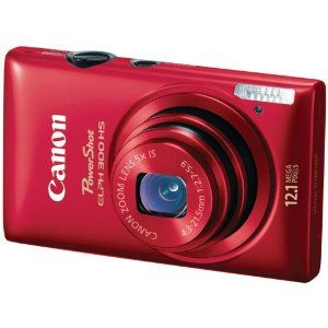Canon PowerShot ELPH 300 HS 12 MP CMOS Digital Camera with Full 1080p HD Video (Red) This thing is A-MAZING!