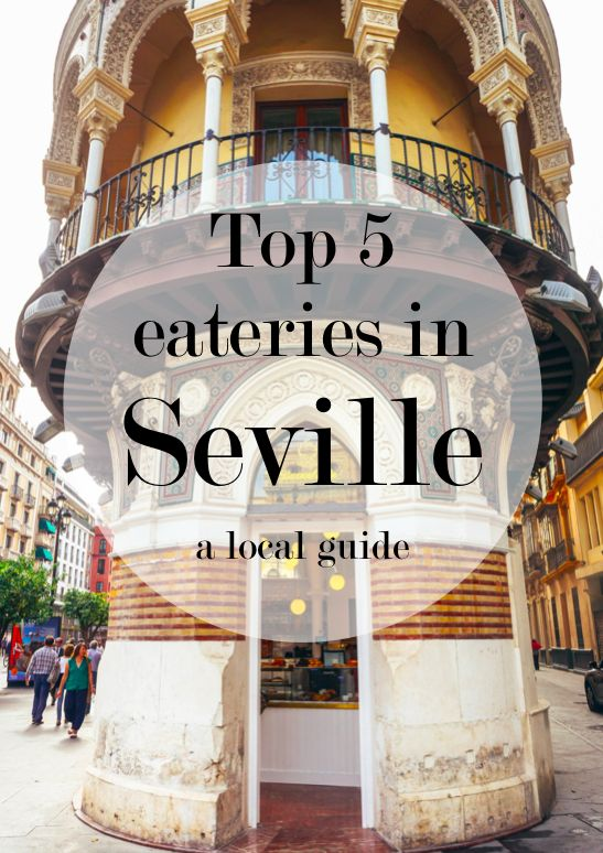The top five places where locals eat in Seville/Sevilla, Spain. This includes family run restaurants and local eateries and bodegas.   1. Taberna Coloniales  2. Cerveceria Jose Luis  3. La Bodega de Antonio Romero  4. Bar Alfalfa  5. San Fernando in the Hotel Alfonso