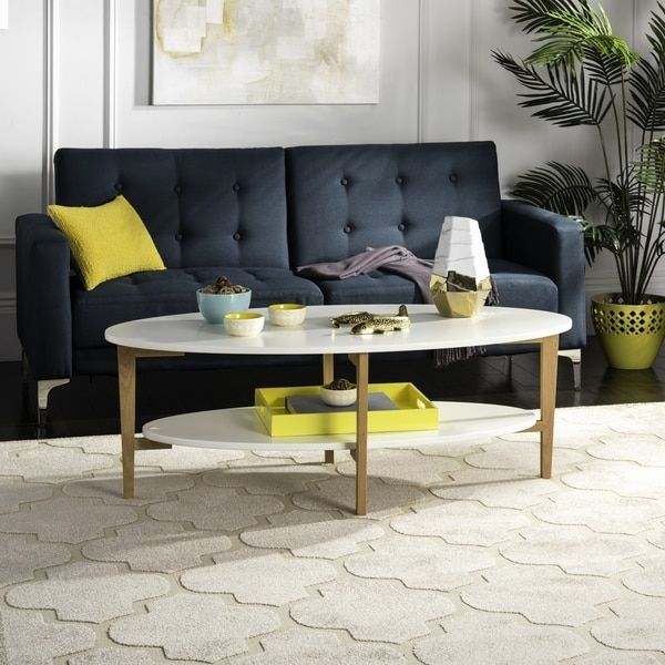 Oval Coffee Table Design