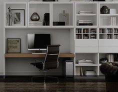 Bureau wit lak of hoogglans, Carre meubelen, boekenkast, bovenkast,vitrine, laden, hoog 260 cm. op maat gemaakt CARRE dealer : slaapkenner theo bot zwaag, hoorn