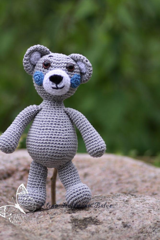 Amigurumi,gehäkelte Bär .Häkeln.Handarbeit.Häkeltier.handmade
