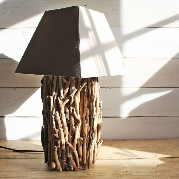 Wood Lamp
