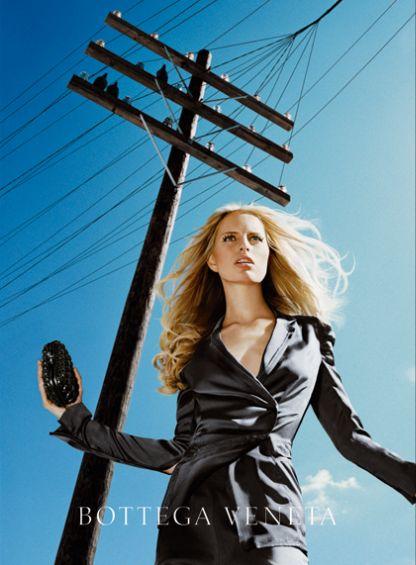 Bottega Veneta: Ad Campaign Spring/Summer 2011: Karolina ...
