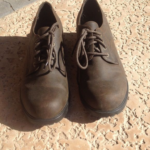 """Sonoma brown shoes Brown Sonoma shies 1.5"""" heels wore 1 time. Great condition Sonoma Shoes Flats & Loafers"""