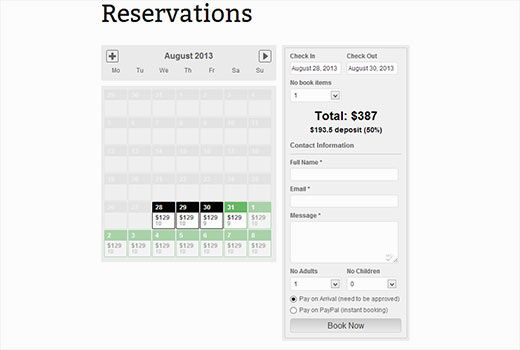 37 best kr for Design hotel reservation system
