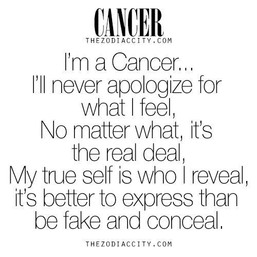 Zodiac Cancer. For more zodiac fun facts, click here.