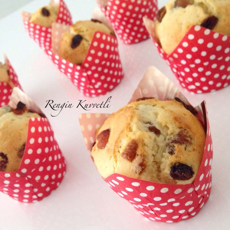 Meyveli Muffin