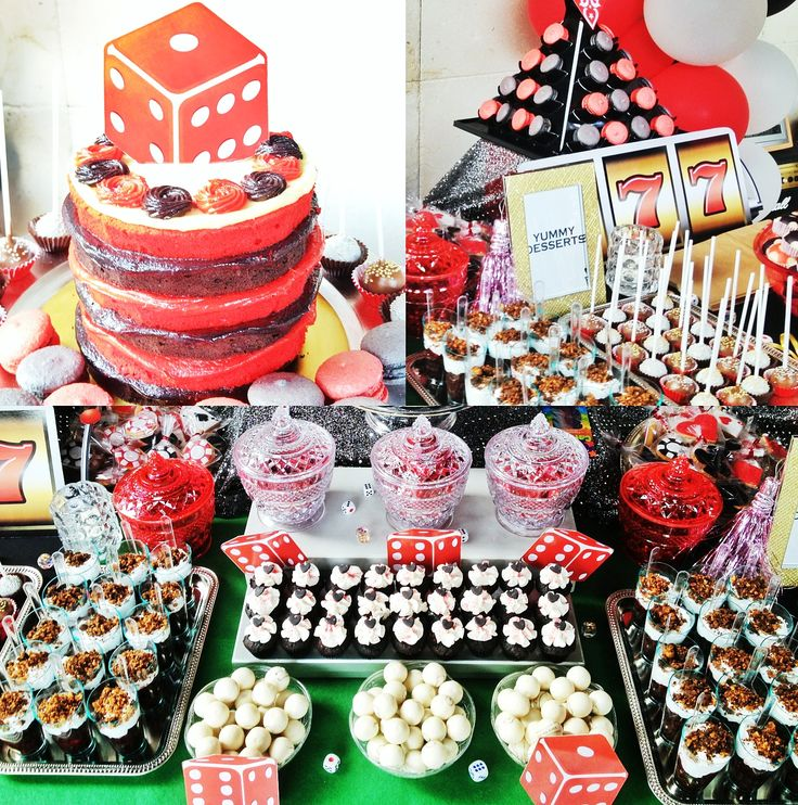 141 Best Images About Casino Party Food On Pinterest