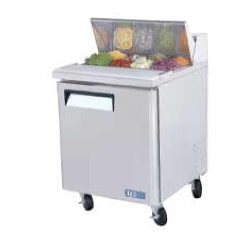 #Turbo Air #Refrigerated Prep Tables combine an efficient CFC free R-134A refrigeration system with high-density polyurethane insulation enclosed in a stainless s...