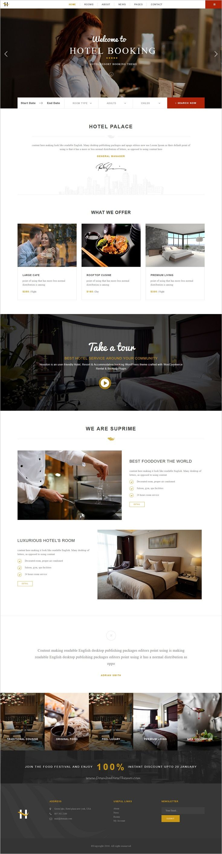 Houston is an user-friendly #Hotel, Resort & #Accommodation booking #WordPress theme crafted with WooCommerce Rental & Booking Plugin, Visual Composer, and Multilingual Ready download now➩ https://themeforest.net/item/houston-online-hotel-resort-accommodation-booking-woocommerce-theme/18843216?ref=Datasata