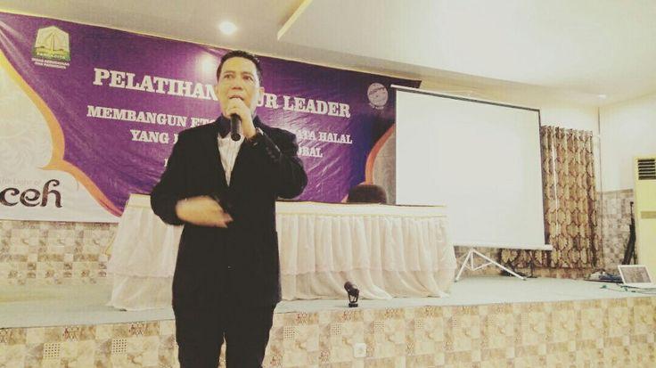 Seminar Be Optimistic POWER with MLP 6-7 Mei 2017 Tour Leader Di Dinas Pariwisata Aceh