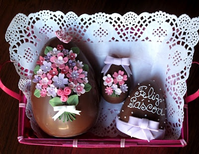 easter choc eggs