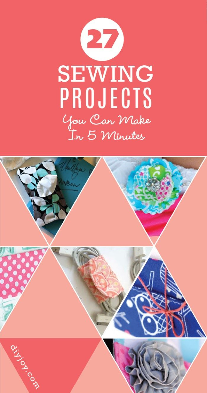 quick sewing projects You can search things like quick sewing projects, sewing for beginners, just get  creative in finding exactly what you want but for now, enjoy this.