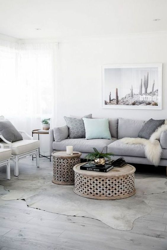 6 Beautiful Gray Living Room Ideas To Capture The Minimalist Look