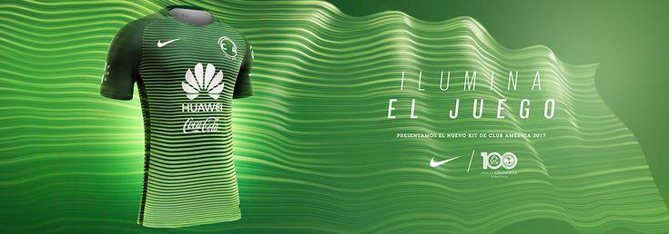 Tercer jersey Nike verde de Leyenda Águilas del América