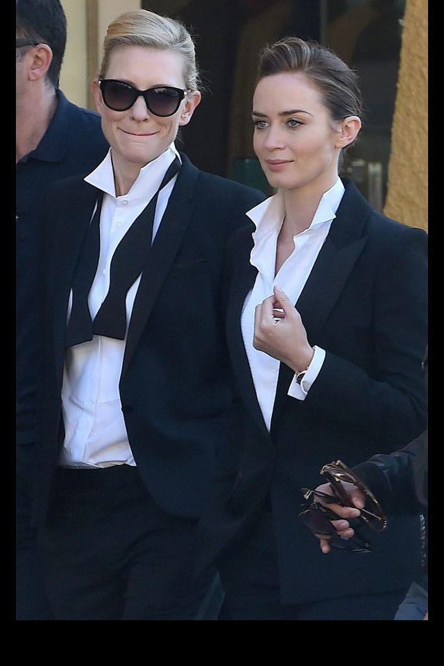 Cate Blanchett and Emily Blunt.