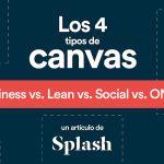 Infografía: los diferentes tipos de Canvas para tus modelos de negocio