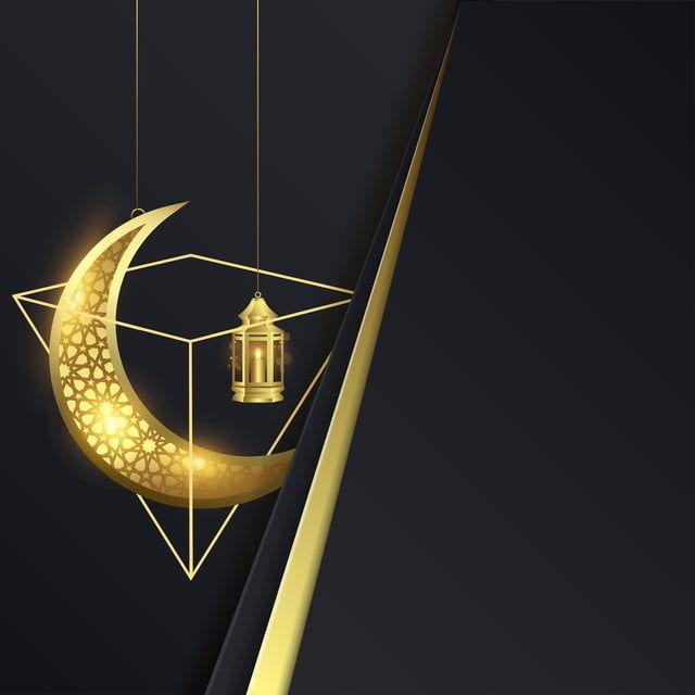 فانوس رمضان كريم مع القمر مشرق الديكور الله Png والمتجهات للتحميل مجانا Geometric Vector Vector Free Blue Bokeh