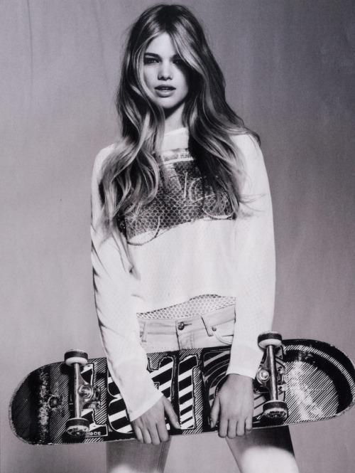 Editorial #Skateboard Fashion Aver Report   Skate Portrait