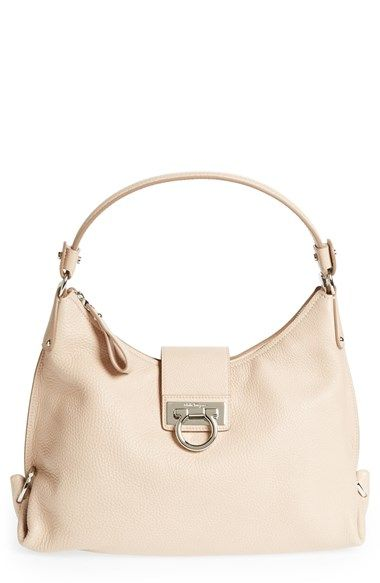 0667b8364d76 Salvatore Ferragamo  Medium Fanisa  Leather Hobo available at  Nordstrom