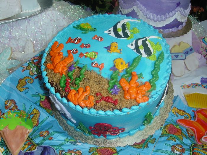 Fish Birthday Cake Ideas Best Party cakes Pinterest ...
