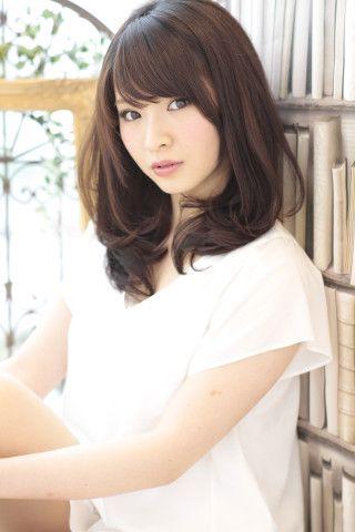 個性が引き立つ似合わせヘアスタイルで大人かわいいセミロング♡すてきなカット・アレンジ・髪型☆