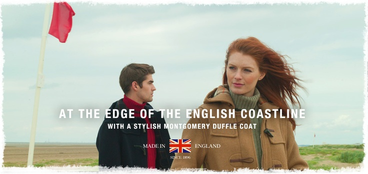 Long Classic Hand Made in England Duffle Coats