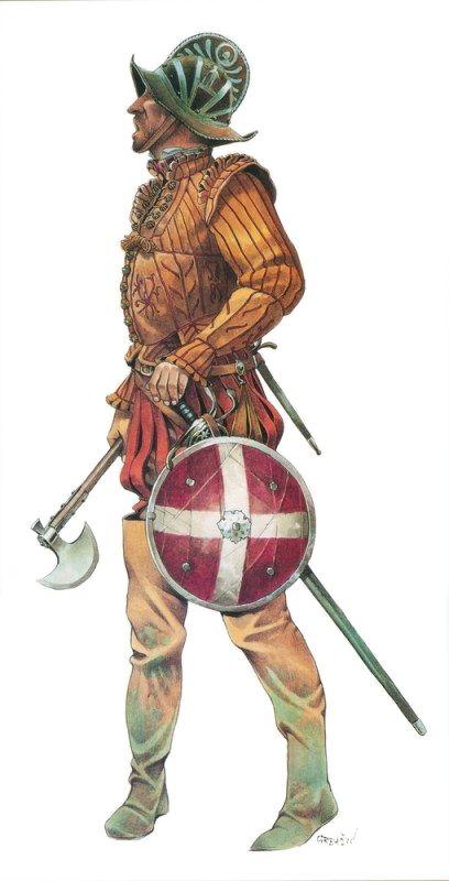 Naval officer, Battle of Lepanto (1571)