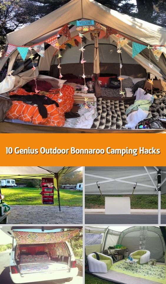 10 Genius Outdoor Bonnaroo Camping Hacks - If you have to ...