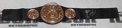 Mick Foley Kevin Sullivan Signed Tag Team Championship Belt WWE WCW ECW - PSA/DNA Certified - Autographed Wrestling Robes, Trunks and Belts  100% Certified Authentic and Backed by our Sports Memorabilia Authenticity Guarantee  Comes with a Certificate of Authenticity from and PSA/DNA  Category; Autographed Wrestling Robes, Trunks and Belts  Makes a Great Gift!