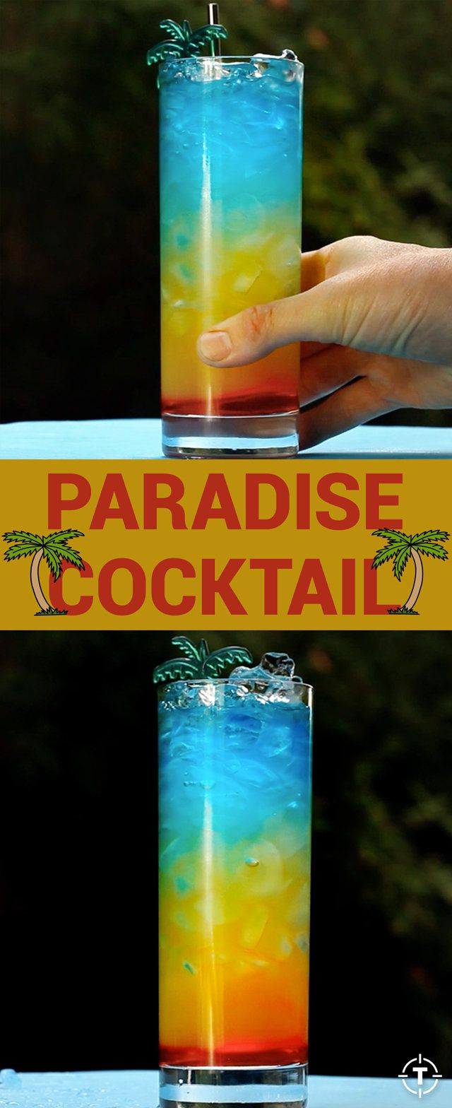 This drink is para-para-paradise.