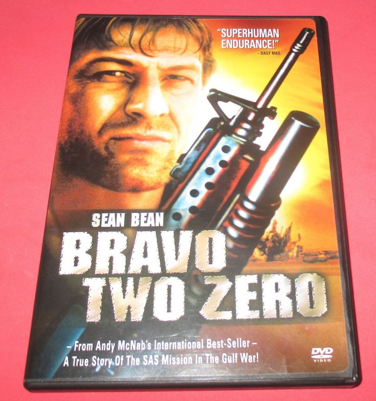 Bravo Two Zero,  DVD- 2001 SEAN BEAN True GULF WAR STORY Widescreen FREE SHIP! #bravotowzero #seanbean #action #truestory #war #movies http://www.ebay.com/usr/vinylrockretro?_trksid=p2047675.l2559