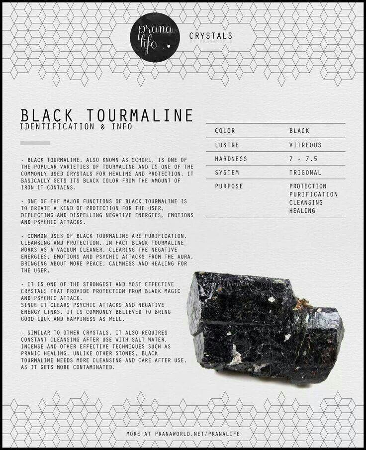 25 best ideas about black tourmaline on black