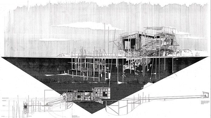 George Courtauld BSc Unit 6 2013 - 2014: EDGE: FRAGILE LANDSCAPES, Christine Hawley, Paolo Zaide