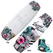 Liquid Force Angel Wakeboard With Plush Bindings
