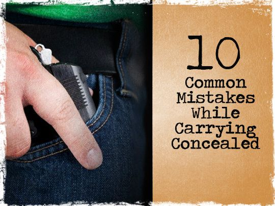 10 Common Concealed Carry Mistakes... Number 1 is my favorite!  It is why Texas Star Shooting recommends the Gun 101/CHL combo for any novice or even 'rusty' shooter!