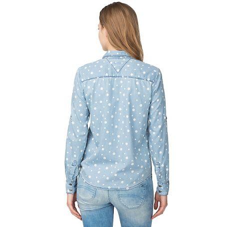 Hilfiger Denim Edna Chambray Shirt - light chambray (Blue) - Hilfiger Denim Blouses - detail image 1
