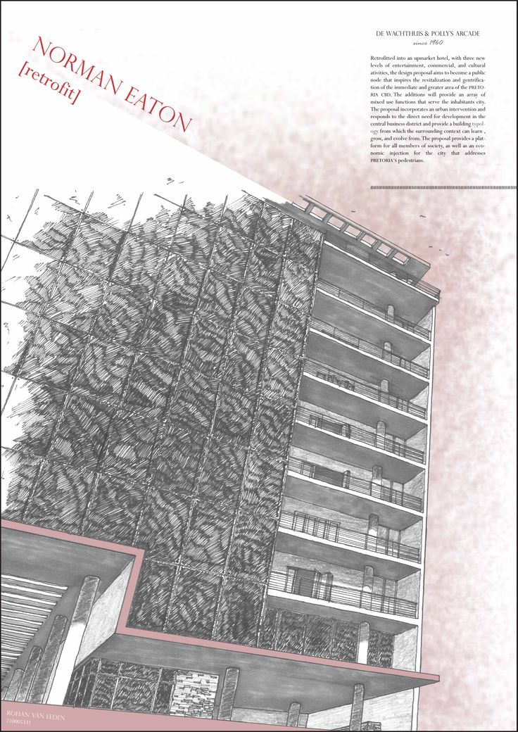 4th Year project | Norman Eaton #retrofit | Presentation p.1