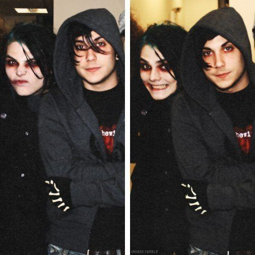 These two are seriously my favorite people in the world! <3 frank iero and gerard way