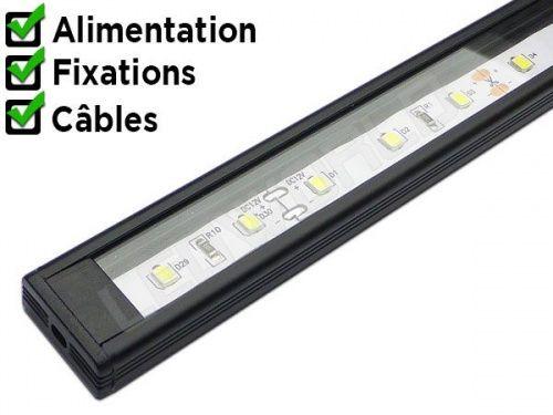 Sur ledworld.fr vous pouvez découvrir nos réglettes LED avec éclairage LED intégré. Choisissez un éclairage LED moderne et contemporain. Livraison avec suivi.