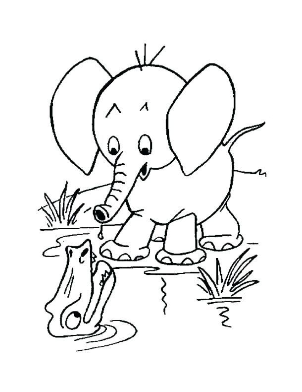 Elephant Coloring Pages Printable Baby Elephant Color Pages Baby Elephant Coloring Page In 2020 Elephant Coloring Page Animal Coloring Pages Horse Coloring Pages