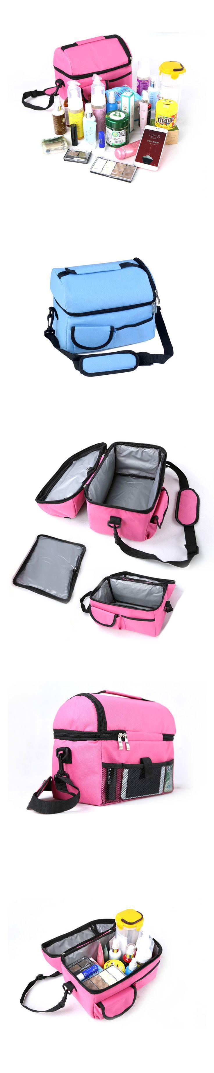 529354 baby thermal bag Mommy Picnic Bag Baby Milk Bottle Insulation Bags Large-capacity Ice Travel Storage Thermal Bottle Bag