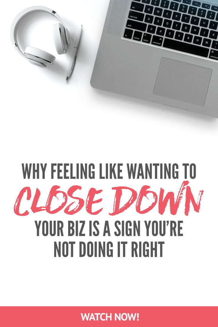 """""""Why feeling like wanting to close down your biz is a sign STARTING SOON!! Sign up for 5 days of free training with the new challenge - Screw Feelings, Get Clients! Go here to start -> https://evolv.ly/screw-feelings"""""""
