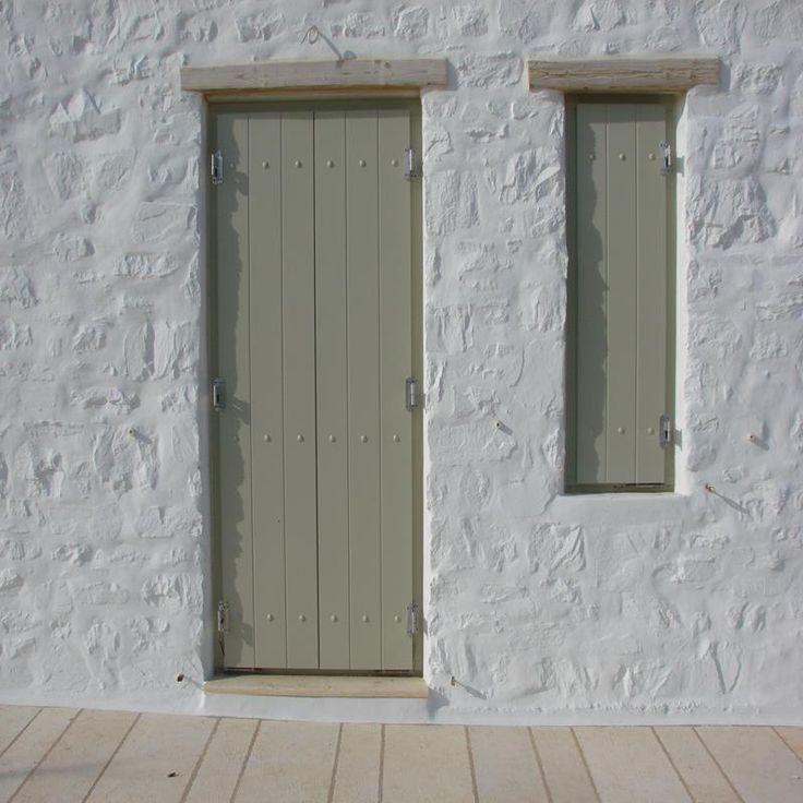 Standard τρόπος κατασκευής λειτουργίας και χρήσης των παντζουριών, για παράθυρα και μπαλκονόπορτες.
