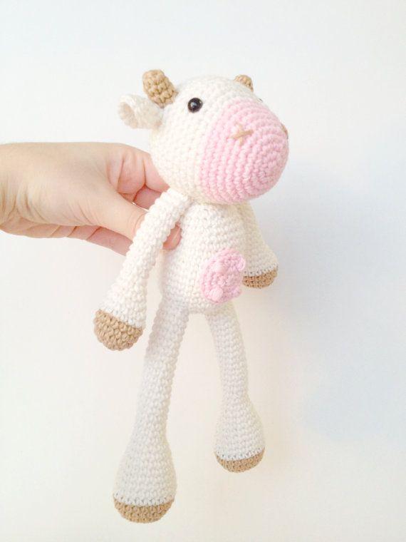 Amigurumi Cow Pattern Crochet Cow Pattern by MarigurumiShop