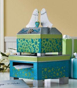 Pinterest Wedding Gift Card Holder : Wedding Gift Card Holder Wedding Diy Ideas Pinterest Gift card ...