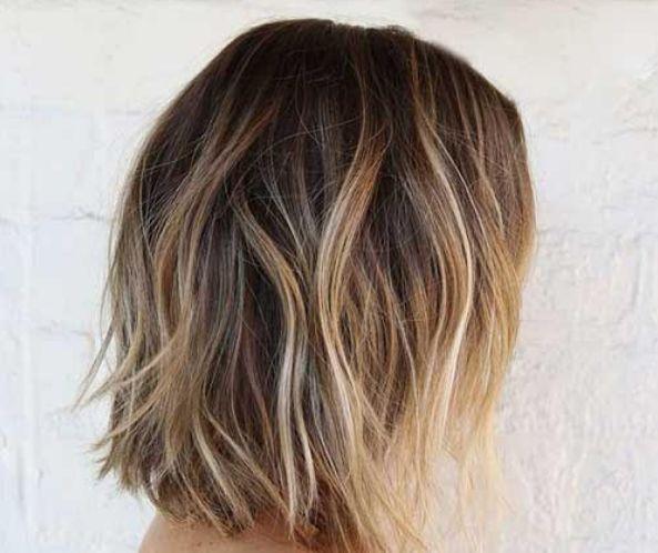 1000 id es sur le th me balayage longueur paule sur pinterest blond aux paules cheveux - Qu est ce qu un balayage ...